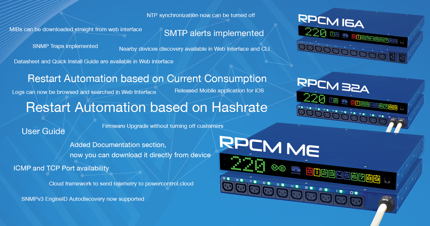 RPCM Software 0 7 1 - new possibilities! Discounts until the end of